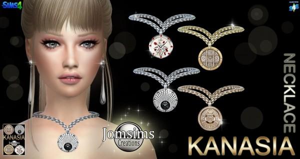Jom Sims Creations: Kanasia collier