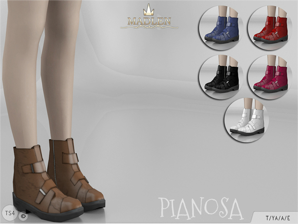 The Sims Resource: Madlen Pianosa Boots by MJ95
