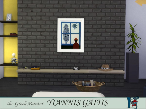 The Sims Resource: The Greek Painter Gaitis set by Evi