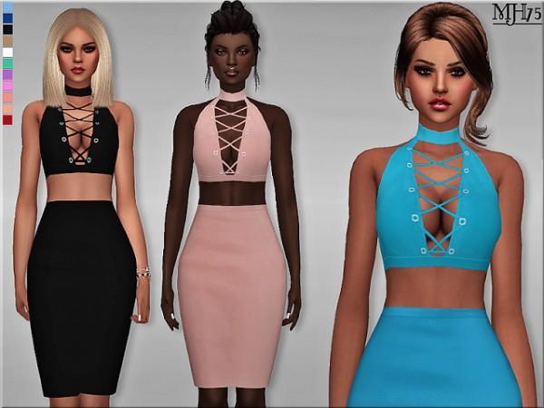 Sims Addictions: Criss Cross Dress