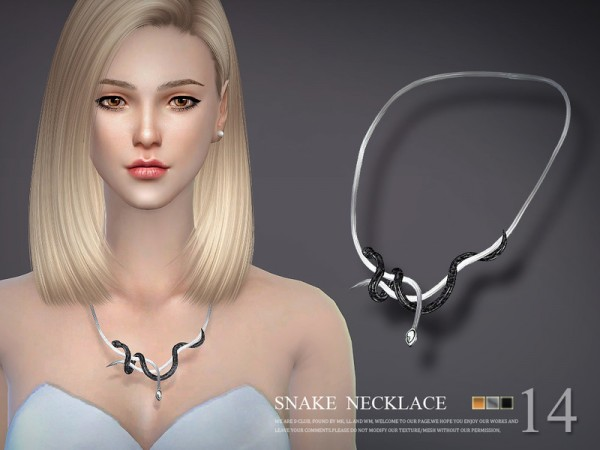 The Sims Resource: Necklace N14 by S Club