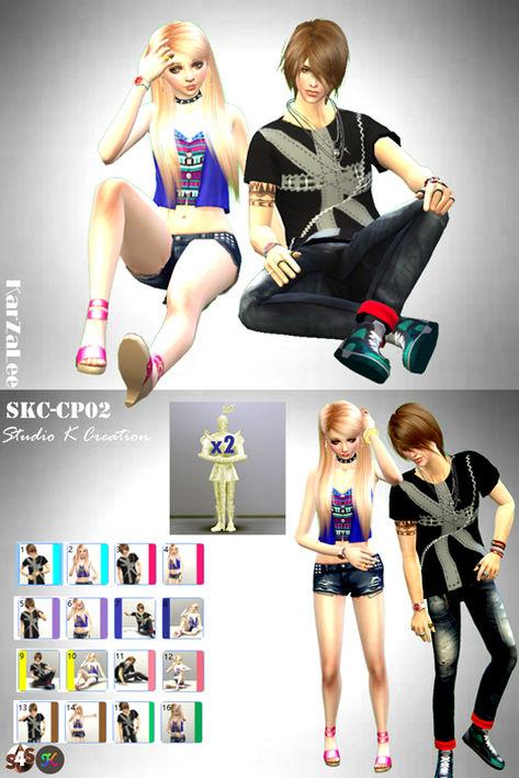 Studio K Creation: Couple Pose Set CP02