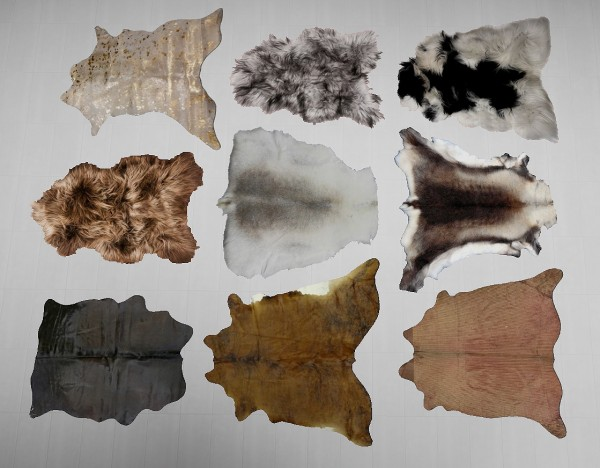 Sims 4 Designs Cow Hide Rugs Galore Sims 4 Downloads