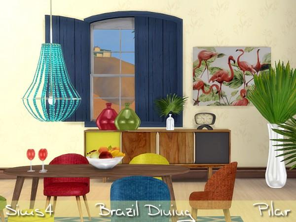 SimControl: Brazil diningroom by Pilar