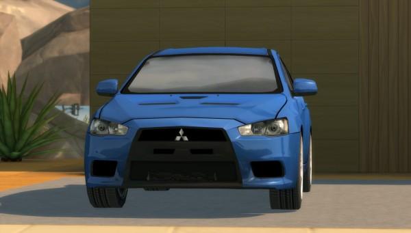 Understrech Imagination: Mitsubishi Lancer Evo X