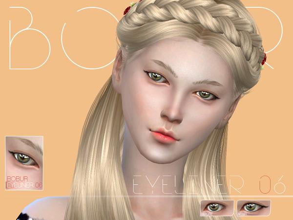 The Sims Resource: Bobur Eyeliner 06