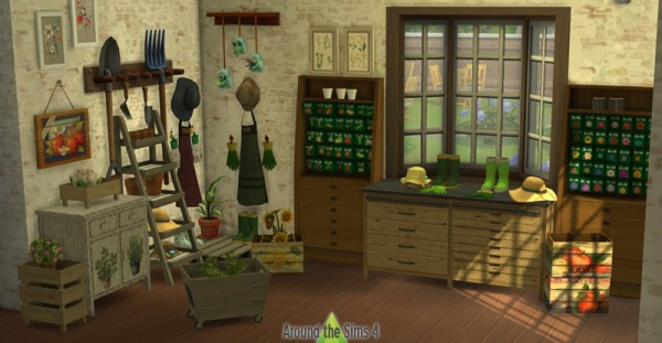 Around The Sims 4: Old Gardening Shop