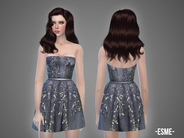 The Sims Resource: Esme   dress by April