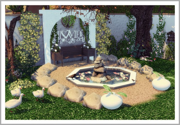 Sims 4 Designs Outdoor Wood Pallet Benches Coffee Table