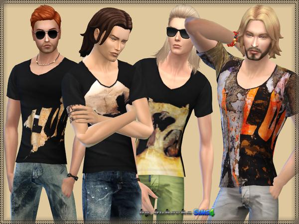 The Sims Resource: Shirt Givenchy by bukovka