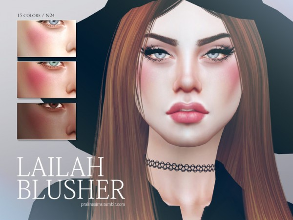 The Sims Resource: Lailah Blusher N24 by Pralinesims