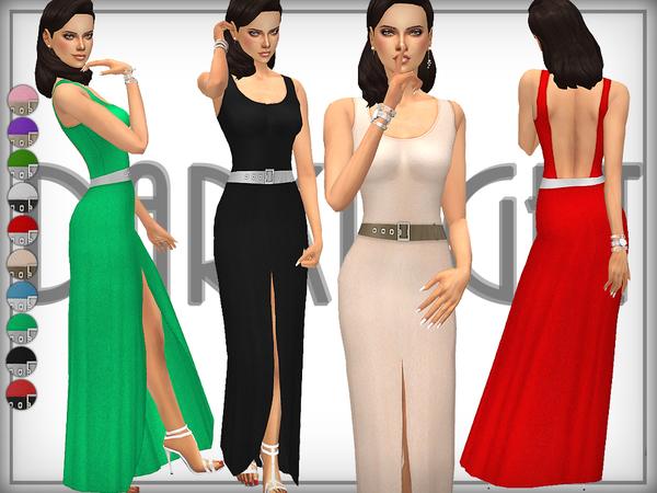 The Sims Resource: Tara Gown by DarkNighTt