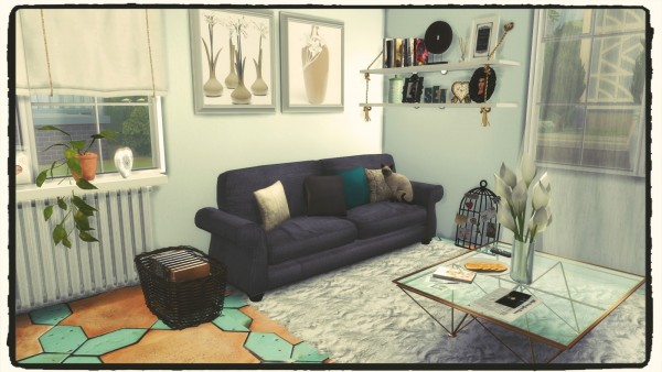 Dinha Gamer: Kitchen & Living Room III