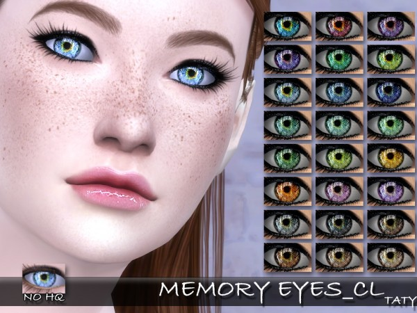 Simsworkshop: Memory Eyes by Taty