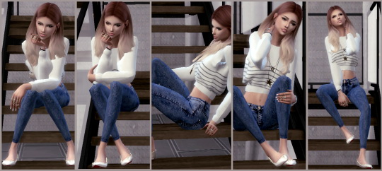 Simsworkshop: Stair Pose Set 1 by ConceptDesign97