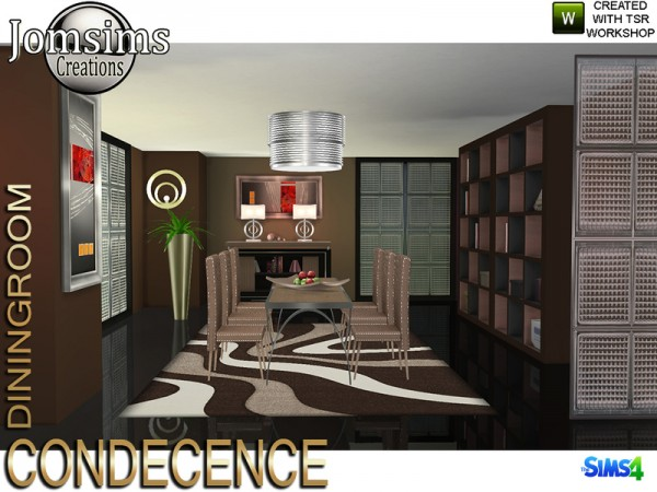 The Sims Resource: Condecence diningroom by jomsims