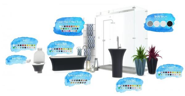 Simsational designs: Serenity Bathroom Set