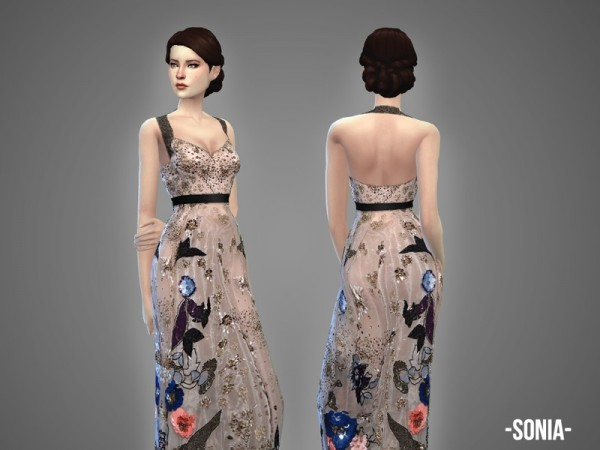 The Sims Resource: Fleur   dress collection by April