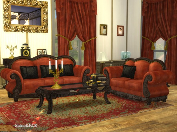 The Sims Resource: French Quarter Livingroom by ShinoKCR