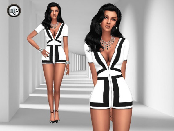Marty P: Andreas Short Jumpsuit