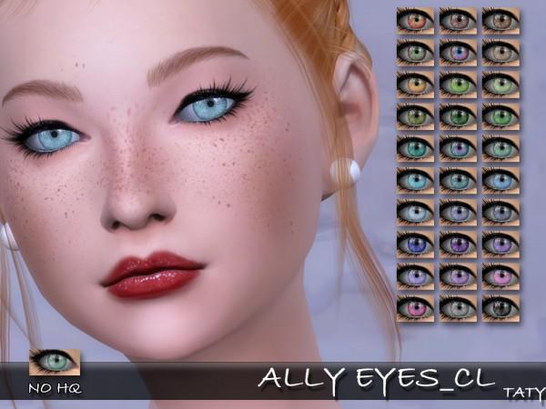Simsworkshop: Ally Eyes by Taty
