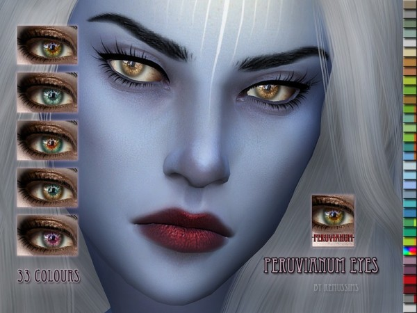 The Sims Resource: Peruvianum Eyes by RemusSirion