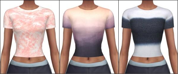 Kenzar Sims: Tight Short Sleeve Top