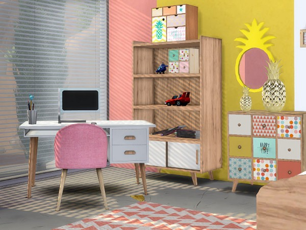 SimControl: Alix bedroom by Pilar