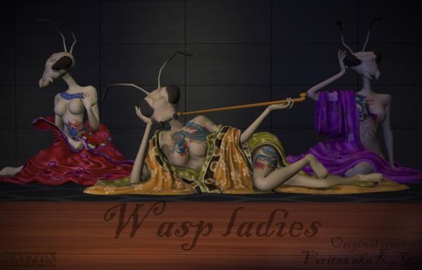Rumoruka Raizon: Wasp ladies