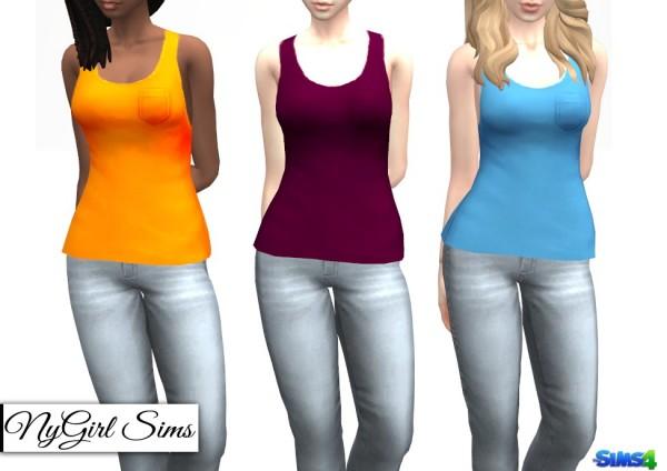 NY Girl Sims: Basic Pocket Tank