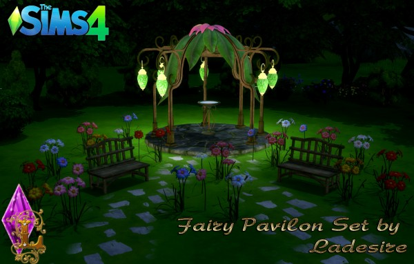 Ladesire Creative Corner: Fairy Pavilon Set