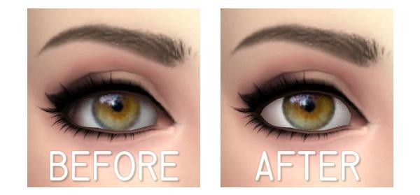 Aveira Sims 4: Eyes 9   Remake