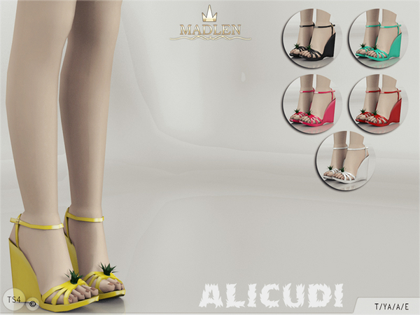 The Sims Resource: Madlen Alicudi Shoes by MJ95