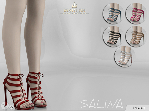 The Sims Resource: Madlen Salina Shoes by MJ95