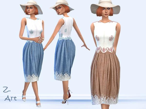The Sims Resource: Freshness dress by Zuckerschnute20