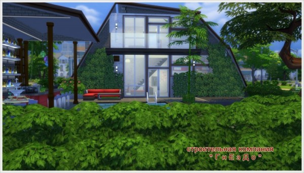 Sims 3 by Mulena: Youth house Der