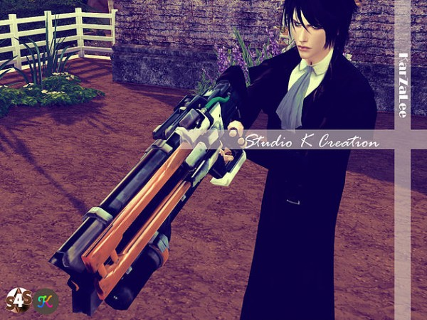 Studio K Creation Overwatch Soldier76 Sims 4 Downloads