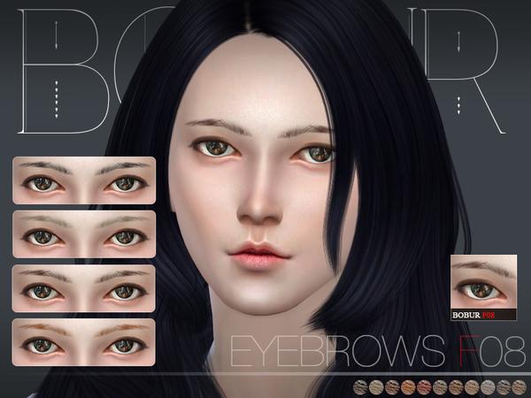 The Sims Resource: Bobur Eyebrows F08