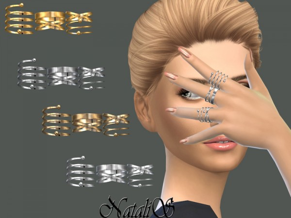 The Sims Resource: Multi rings set 2 by NataliS