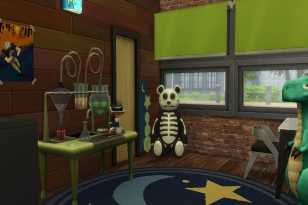 Blackys Sims 4 Zoo: Tower House by ChiLLi