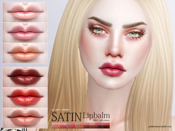 The Sims Resource: Satin Lipbalm N80 by Pralinesims