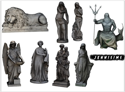 Jenni Sims: Statues Collection Vol 23