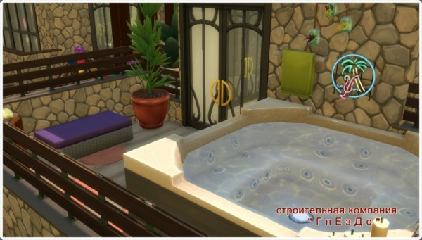 Sims 3 by Mulena: Holiday home