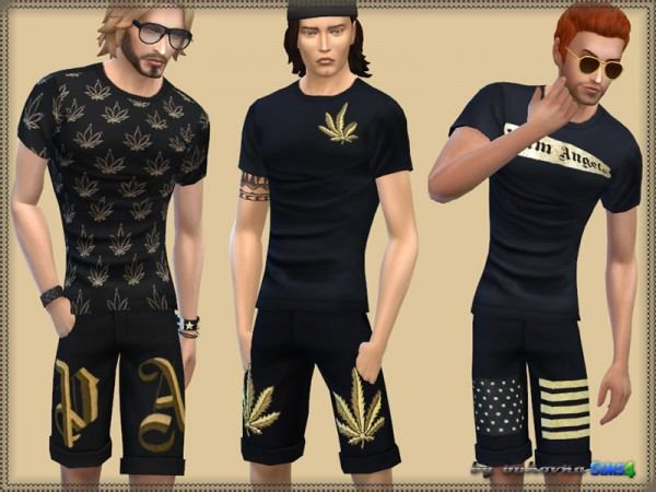 The Sims Resource: Set Palm Angels 2 by bukovka