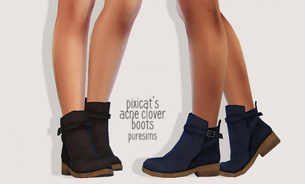 Pure Sims: Acne Clover Boots