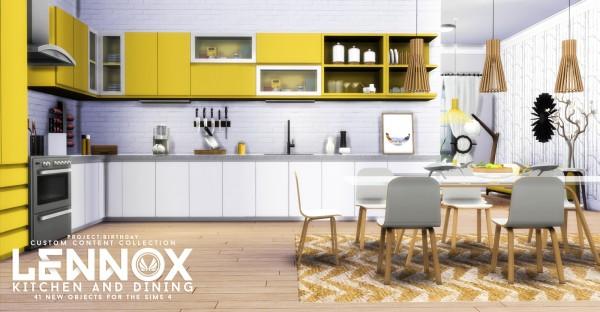 Simsational designs: Lenox kitchen and dining set