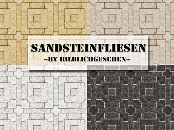 Akisima Sims Blog: Sandstone floor tiles