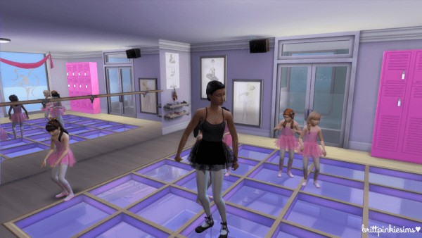Brittpinkiesims Dance Studio Stuff Sims 4 Downloads