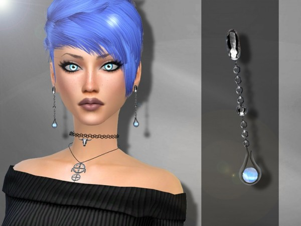 The Sims Resource: Morellato Earrings
