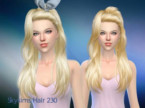 Butterflysims: Skysims hair 230